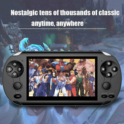 """5.0"""" Portable Handheld X9 Video Game Console PSP 128 Bit Built In 1000+Game 8GB"""