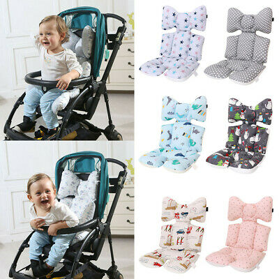 Fashion Cotton Baby Stroller Cushion Pram Pad Pushchair Mat High Chair Cushion