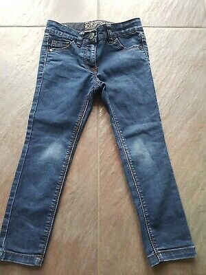 Next and Gap Girls x2 Jeans/Trousers bundle age 4 years good Condition few stain