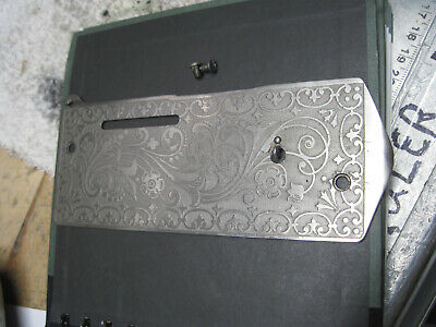 Singer 27 127 Face Plate Sewing Scrolled Ornate Front Service Cover From 1901