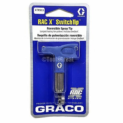Graco Rac X SwitchTip  LTX513 Latex Paint Spray Tip 513