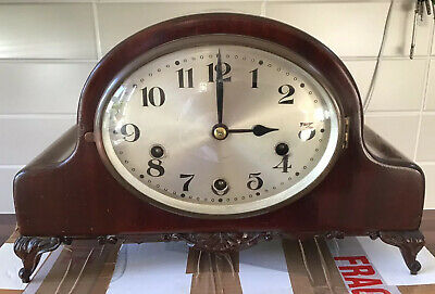 Westminster Chime Mantle Clock for spares or repair.