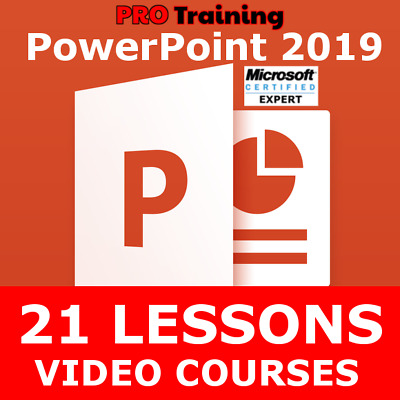 Video Courses - PowerPoint 2019 - Training Lessons Tutorials