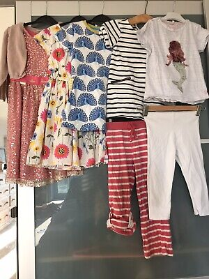 Bundle of Girls Clothes Age 5-6 Boden Joules Next Seasalt M&S Dress Trousers Top