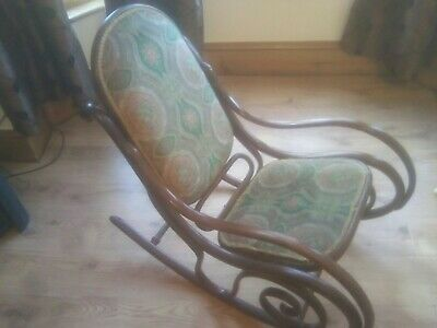 Antique Edwardian / Art Nouveau Style  rocking chair