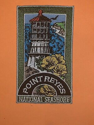 Point Reyes National Seashore Calfornia Souvenir Patch