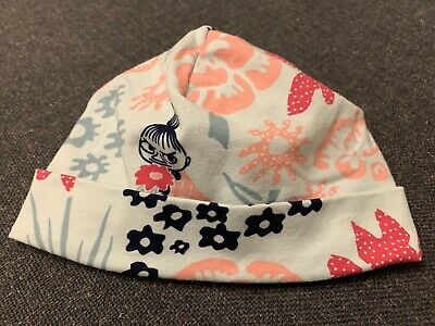 Cotton baby hat feat. Moomin 'Little My' Character – 0-6m / EU 42/44, great cond