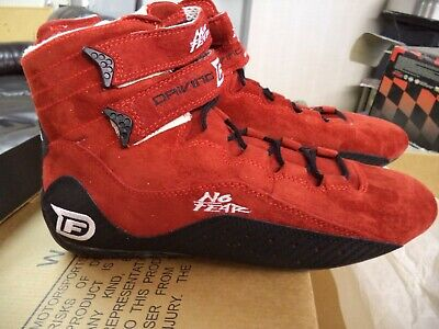No Fear Driving Force Racing Shoes Red size 8