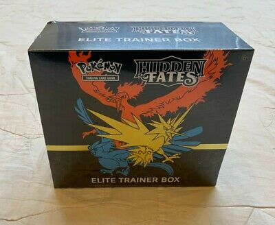 Pokemon TCG: Hidden Fates Elite Trainer Box - NEW  Factory Sealed (10 boosters)