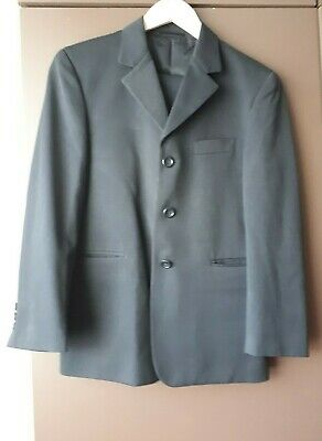 Boys Romano Navy/Two Piece / Single Breasted Suit Size 10 years