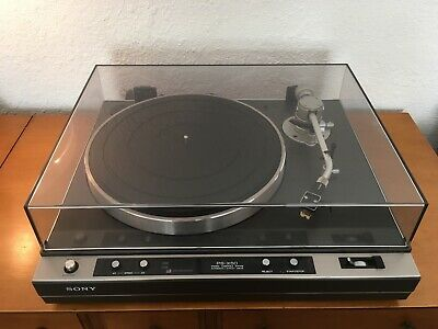Sony PS-X50 Turntable, refurbished with Shure M55E cartridge