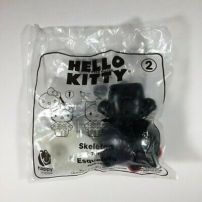 2019 Hello Kitty McDonald's Happy Meal Toy # 2 Skeleton New Sealed in Package