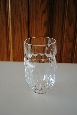 Vtg Curraghmore Waterford Crystal 5 oz Tumbler Flat Bottom 3 Avail