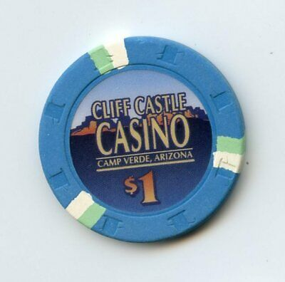 1.00 Chip from the Cliff Casino in Camp Verdi Arizona