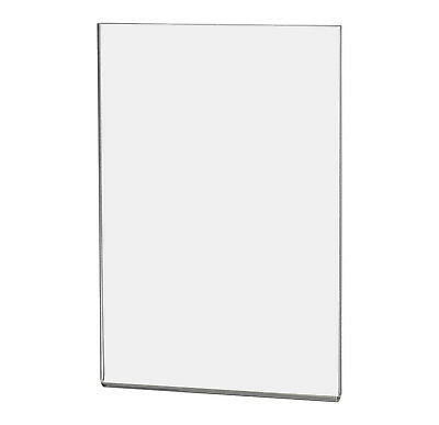 """Magnetic Ad Frame Sign Holder 4""""W x 6""""H Wall Mount with No Holes"""