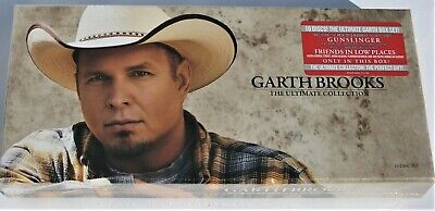 Garth Brooks: The Ultimate Collection 10 Disc Disk CD Set Sealed