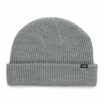 Vans core basic beanie heather grey cappellino new invernale ski snowboard