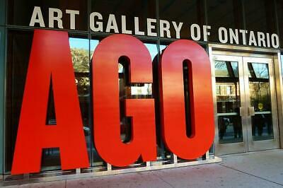 Art Gallery of Ontario in Toronto - 4 General Admission Passes to the AGO Museum