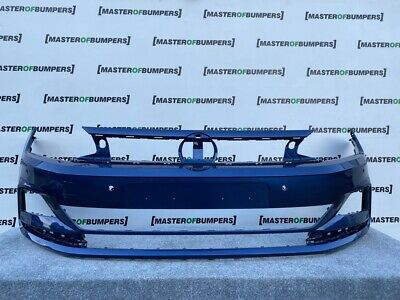 Vw Polo Bluemotion 2018-On Front Bumper In Blue Genuine [V908]