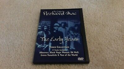 The Original Fleetwood Mac The Early Years Video Collection Very good!