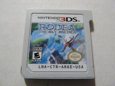 Rodea,The Sky Soldier (Nintendo 3Ds,2015) Tested.... Please Read.