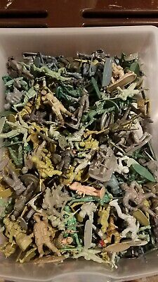 German infantry lot over 150. 54mm plastic