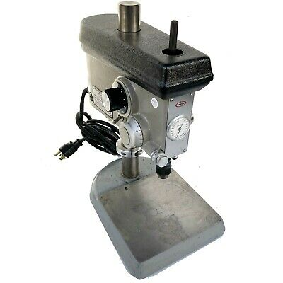 """SERVO 7"""" Variable Speed Sensitive Precision Bench Top Drill Press - #7000 USED"""