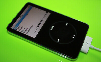 Apple iPod Classic 5th Gen 30GB BLACK A1136 (MA002LL/A) #3