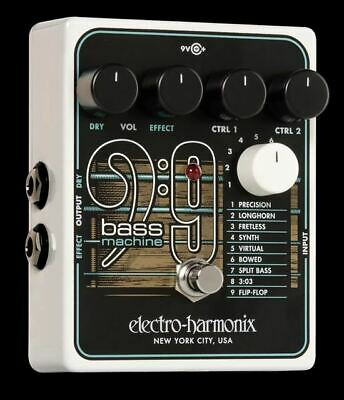 Electro-Harmonix Bass9 Bass Machine Effect Pedal