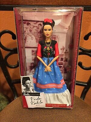 Barbie Signature Frida Kahlo Inspiring Women Doll Series Mexico Nib Free Ship