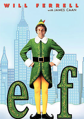 Elf Movie 2004 (Infinifilm Edition) DVD New Will Ferrell