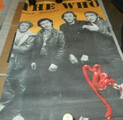 Vintage Poster  The Who  Face Dancing  1981   Promo