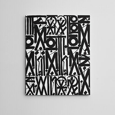 "16X20"" Gallery Art Canvas: Retna contemporary artist graffiti Los Angeles Street"