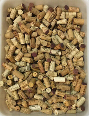 500+ Natural USED WINE CORKS ~ All Real Cork ~ No Synthetic ~ Crafts, Weddings