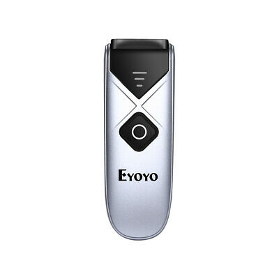 Eyoyo 3 in 1 USB Wired/2.4G/Bluetooth Barcode Scanner for iPhone PC Android iPad