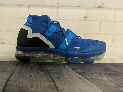 Nike Air VaporMax Flyknit Utility Shoes Men's Size 7.5 Royal Blue AH6834-400 NEW