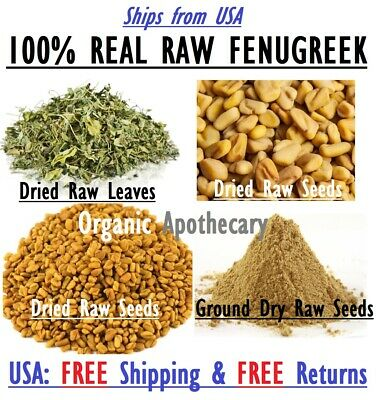 14 oz ORGANIC FENUGREEK Ground SEED POWDER Foenugreek Methi Helba Hulba 7//8 Lb