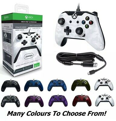 Xbox One/PC PDP Wired Controller BRAND NEW, BLUE,GREEN,WHITE,RED,PURPLE EXPRESS