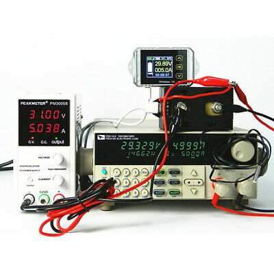 Wireless Coulomb Counter Voltmeter Ammeter Direct Battery Monitor Counter