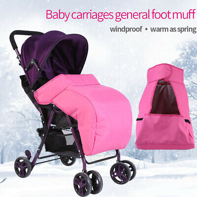 Warm Baby Stroller Foot Muff Buggy Pram Thicken Cover Windproof Case Bag 60x40 c