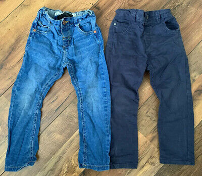 NEXT & TU Boys Age 2 Jeans / Trousers Bundle Blue Kids Bottoms