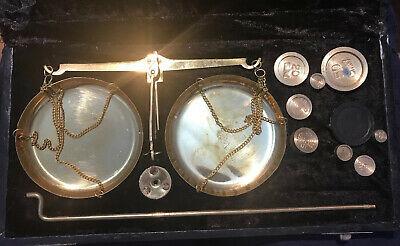 Brass Gold Weighing Scales