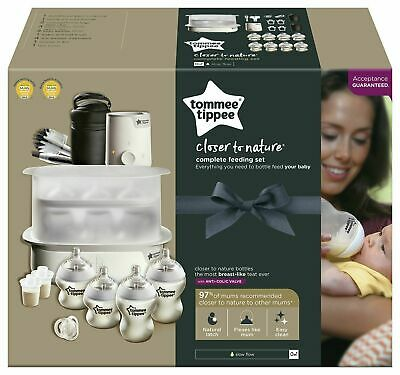 Tommee Tippee Complete Feeding Set White READ