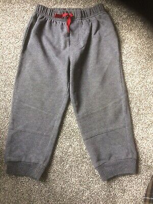 Baby Boys Tracksuit Bottoms By Calvin Klein Jeans For Ages 2 Years In Grey