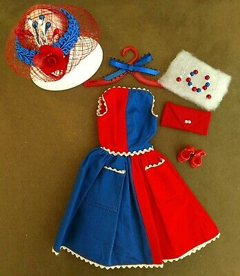 Vintage BARBIE FANCY FREE DRESS IN MINT CONDITION!   PLUS FREE EXTRAS