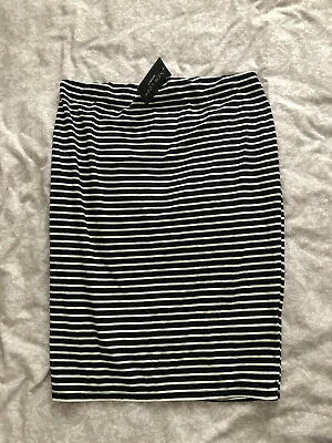 New Look Striped Size 14 Maternity Skirt