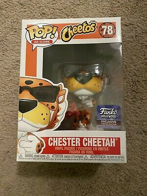 Funko Pop Hollywood CHESTER CHEETAH Grand Opening Exclusive In Hand w HARD STACK