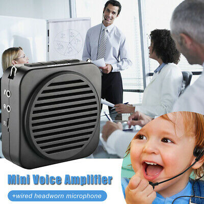 Portable Bluetooth Voice Amplifier Booster Microphone Loundspeaker for Teaching