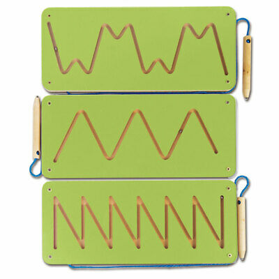 Magnetic Patterns 1 Set of 3 Green