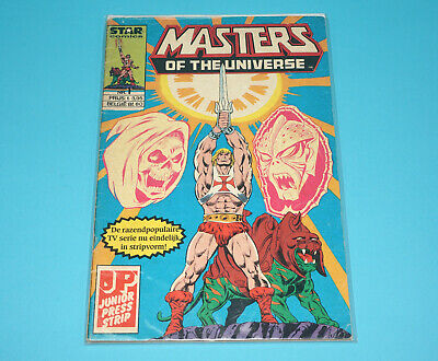 MOTU HE-MAN MASTERS OF THE UNIVERSE STAR COMICS #1 DUTCH 1980s JUNIOR PRESS NL